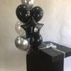 черные шары в коробке