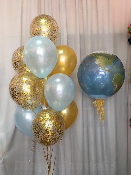 баббл глобус