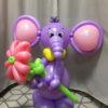 слоненок из шаров
