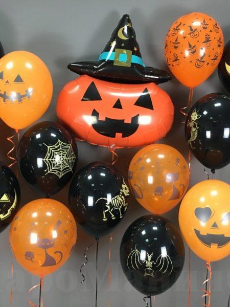 шары на хеллоуин