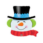 шар снеговик