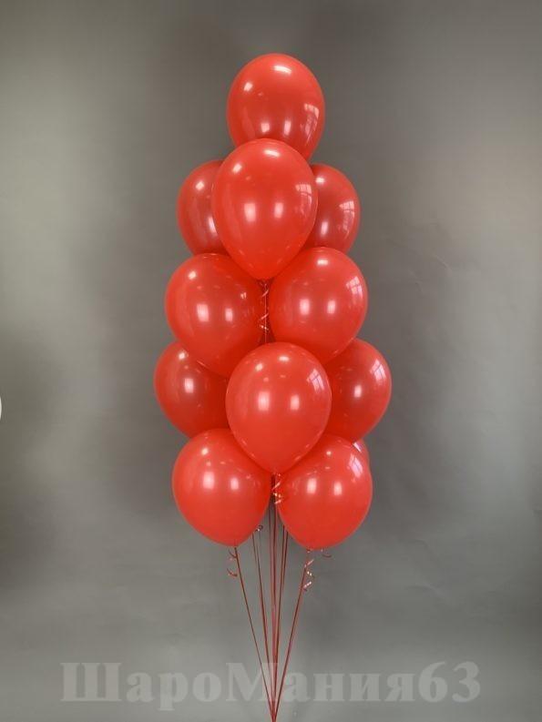 красные шары