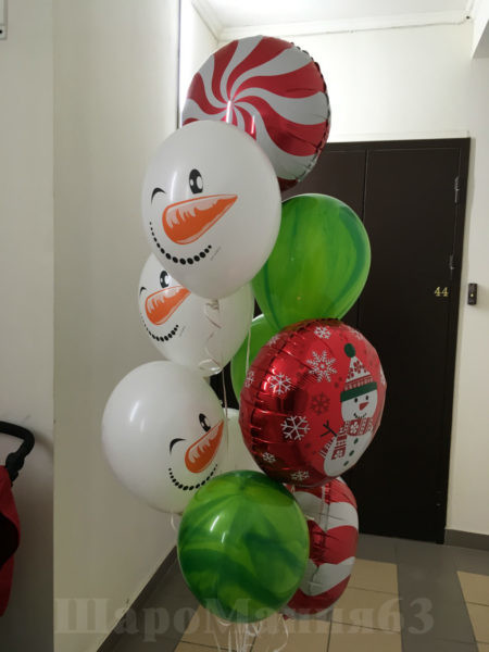 шары на новый год